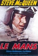 Le Mans - German Movie Poster (xs thumbnail)