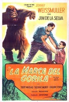 Mark of the Gorilla - Argentinian Movie Poster (xs thumbnail)