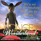 """Once Upon a Time in Wonderland"" - Movie Poster (xs thumbnail)"