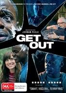 Get Out - Australian DVD cover (xs thumbnail)