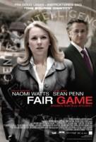 Fair Game - Danish Movie Poster (xs thumbnail)