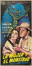 Creature from the Black Lagoon - Spanish Movie Poster (xs thumbnail)