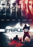 Triple 9 - Dutch Movie Poster (xs thumbnail)