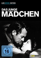 The Young One - German DVD cover (xs thumbnail)