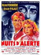 Nuits d'alerte - French Movie Poster (xs thumbnail)