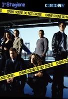 """""""CSI: NY"""" - Italian DVD cover (xs thumbnail)"""
