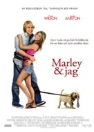 Marley & Me - Swedish Movie Poster (xs thumbnail)