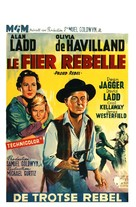 The Proud Rebel - Belgian Movie Poster (xs thumbnail)