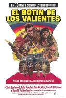 Kelly's Heroes - Argentinian Movie Poster (xs thumbnail)