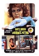 Gatti rossi in un labirinto di vetro - Italian Movie Poster (xs thumbnail)