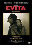 Evita - DVD cover (xs thumbnail)