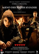 Män som hatar kvinnor - Danish Movie Cover (xs thumbnail)