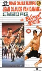 Cyborg - British Movie Cover (xs thumbnail)