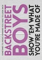 Backstreet Boys: Show 'Em What You're Made Of - Logo (xs thumbnail)