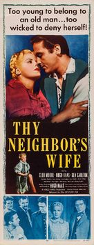 Thy Neighbor's Wife - Movie Poster (xs thumbnail)