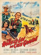 Gunfighters of Casa Grande - French Movie Poster (xs thumbnail)