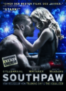 Southpaw - German Movie Poster (xs thumbnail)