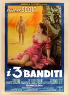 The Tall T - Italian Movie Poster (xs thumbnail)