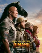 Jumanji: The Next Level - British Movie Poster (xs thumbnail)