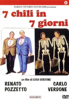 Sette chili in sette giorni - Italian DVD cover (xs thumbnail)