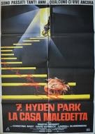 7, Hyden Park: la casa maledetta - Italian Movie Poster (xs thumbnail)
