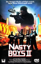 """Nasty Boys"" - German VHS movie cover (xs thumbnail)"