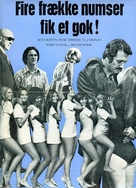 Pretty Maids All in a Row - Danish Movie Poster (xs thumbnail)