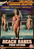 Beach Babes from Beyond - British DVD cover (xs thumbnail)