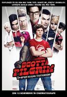 Scott Pilgrim vs. the World - Romanian Movie Poster (xs thumbnail)