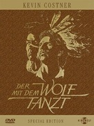 Dances with Wolves - German DVD movie cover (xs thumbnail)