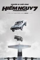 Furious 7 - Vietnamese Movie Poster (xs thumbnail)