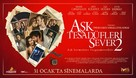 Ask Tesadüfleri Sever 2 - Turkish Movie Poster (xs thumbnail)