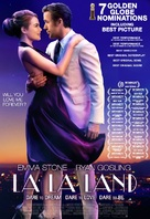 La La Land - Philippine Movie Poster (xs thumbnail)