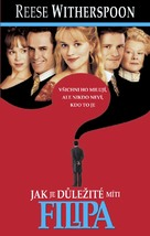 The Importance of Being Earnest - Czech DVD cover (xs thumbnail)