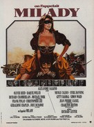 The Four Musketeers - French Movie Poster (xs thumbnail)