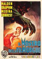 Phantom of the Rue Morgue - Italian Movie Poster (xs thumbnail)