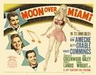 Moon Over Miami - British Movie Poster (xs thumbnail)