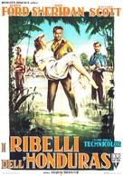Appointment in Honduras - Italian Movie Poster (xs thumbnail)