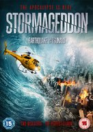 Disaster Wars: Earthquake vs. Tsunami - British DVD movie cover (xs thumbnail)