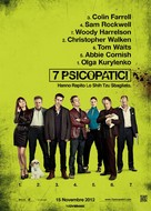 Seven Psychopaths - Italian Movie Poster (xs thumbnail)