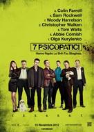Seven Psychopaths - Italian Movie Poster (xs thumbnail)