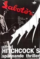 Saboteur - Swedish Movie Poster (xs thumbnail)