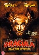 Dracula: Dead and Loving It - Danish DVD cover (xs thumbnail)