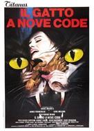 Il gatto a nove code - Italian Movie Poster (xs thumbnail)