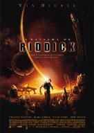 The Chronicles Of Riddick - Brazilian Movie Poster (xs thumbnail)