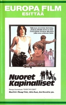 Over the Edge - Finnish VHS movie cover (xs thumbnail)
