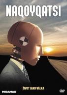 Naqoyqatsi - Czech DVD cover (xs thumbnail)