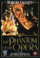 The Phantom of the Opera - British VHS movie cover (xs thumbnail)