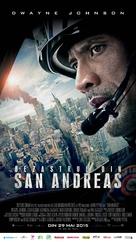 San Andreas - Romanian Movie Poster (xs thumbnail)