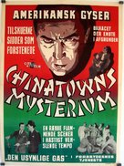 Shadow of Chinatown - Swedish Movie Poster (xs thumbnail)